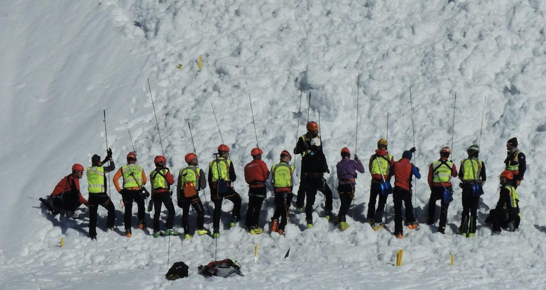 La Guida - Esercitazione notturna per il Soccorso alpino di Cuneo