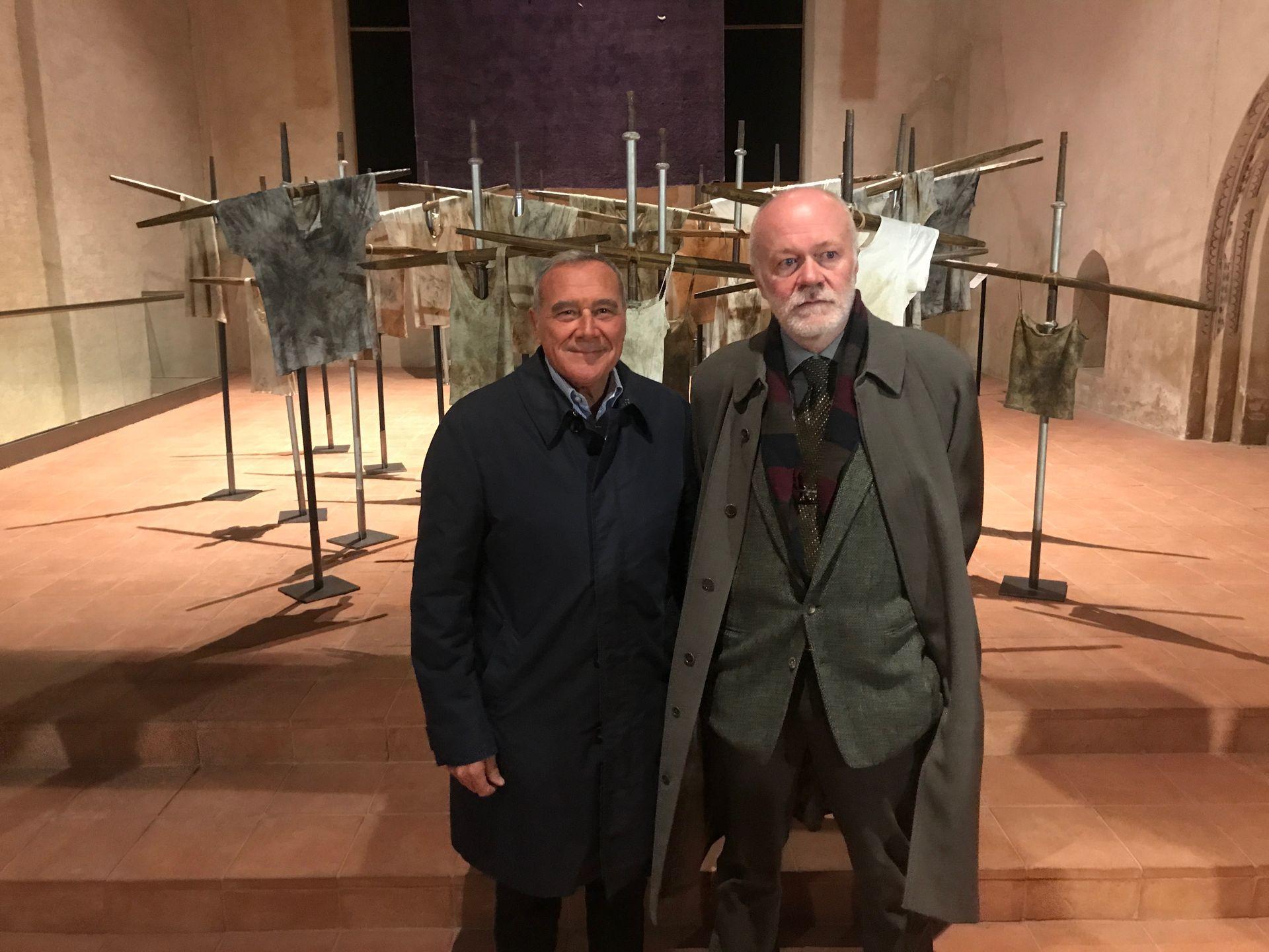 La Guida - Il presidente Grasso visita la mostra in San Francesco