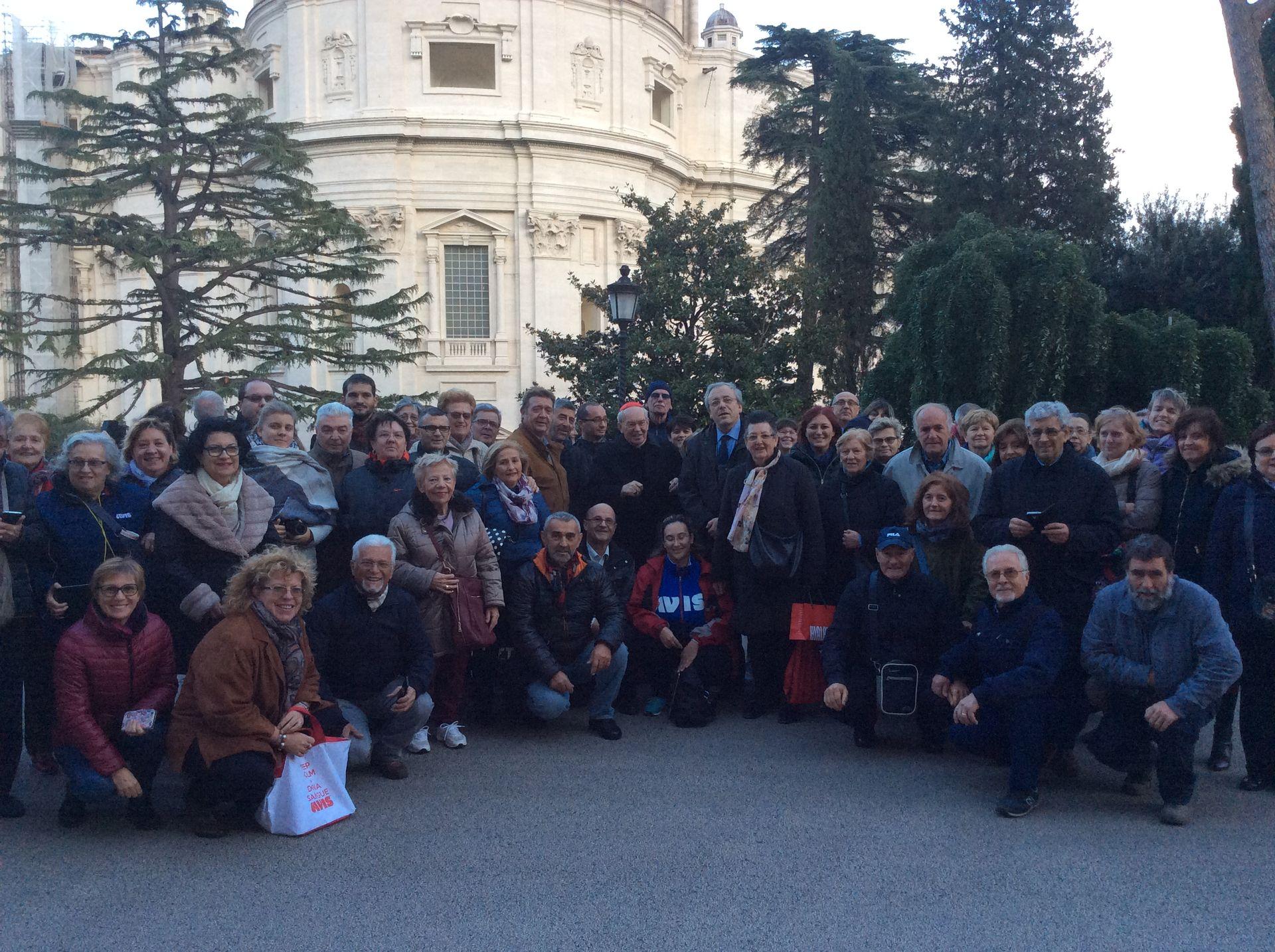 La Guida - Avis del Piemonte in udienza da Papa Francesco