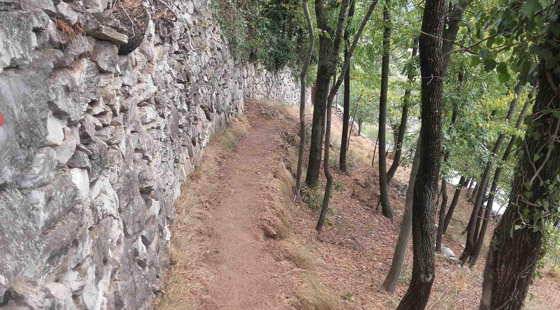 La Guida - Ripristinato sentiero che porta al Santuario di Monserrato