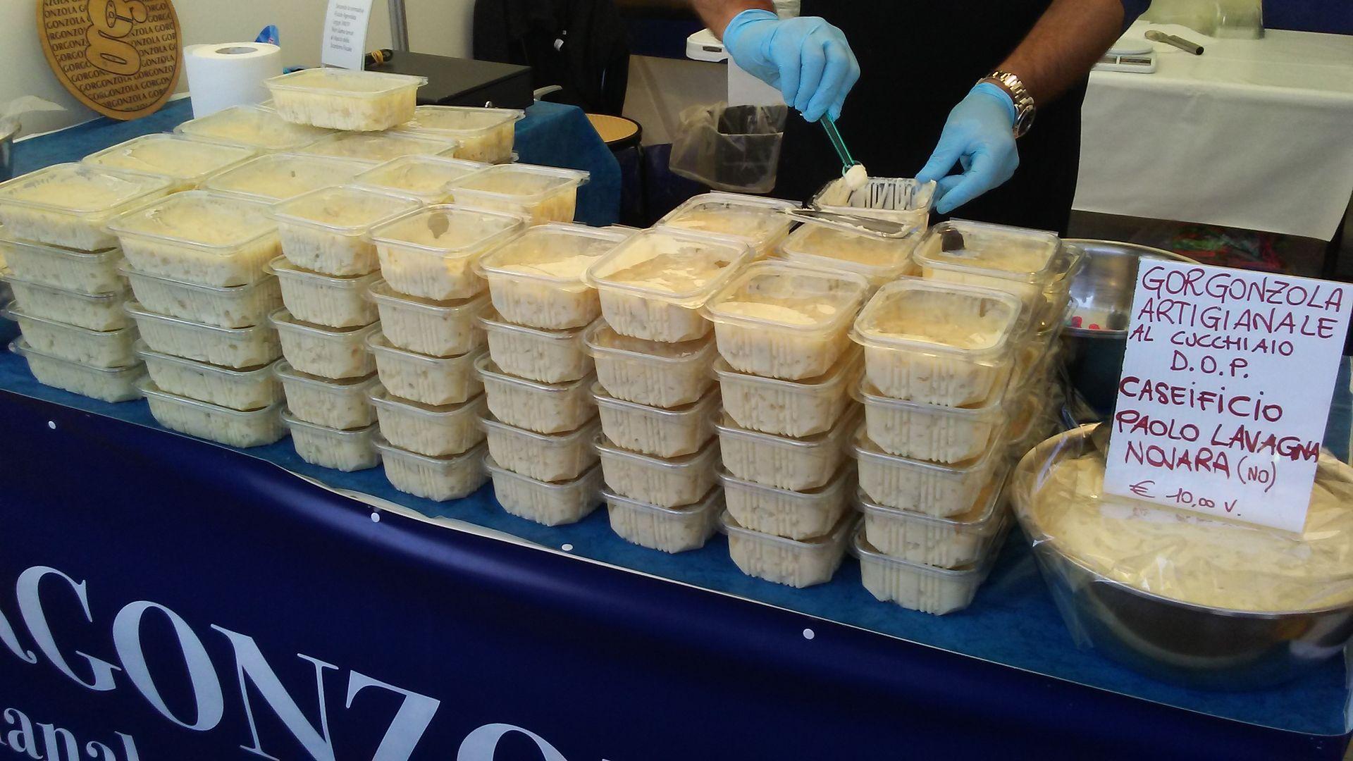 La Guida - Carabinieri scoprono falso gorgonzola