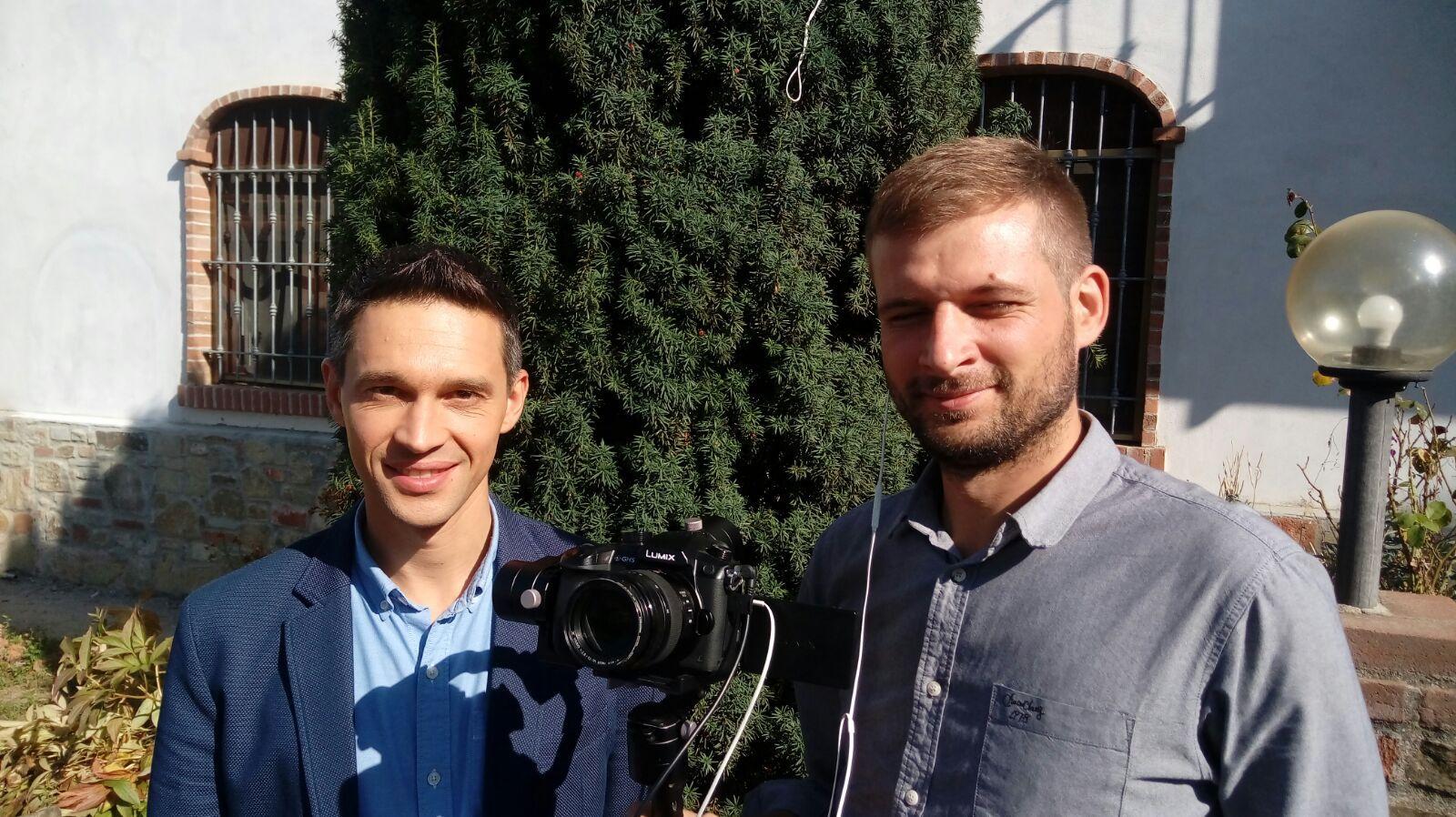 La Guida - Troupe televisiva russa a Cuneo per la Fiera del marrone