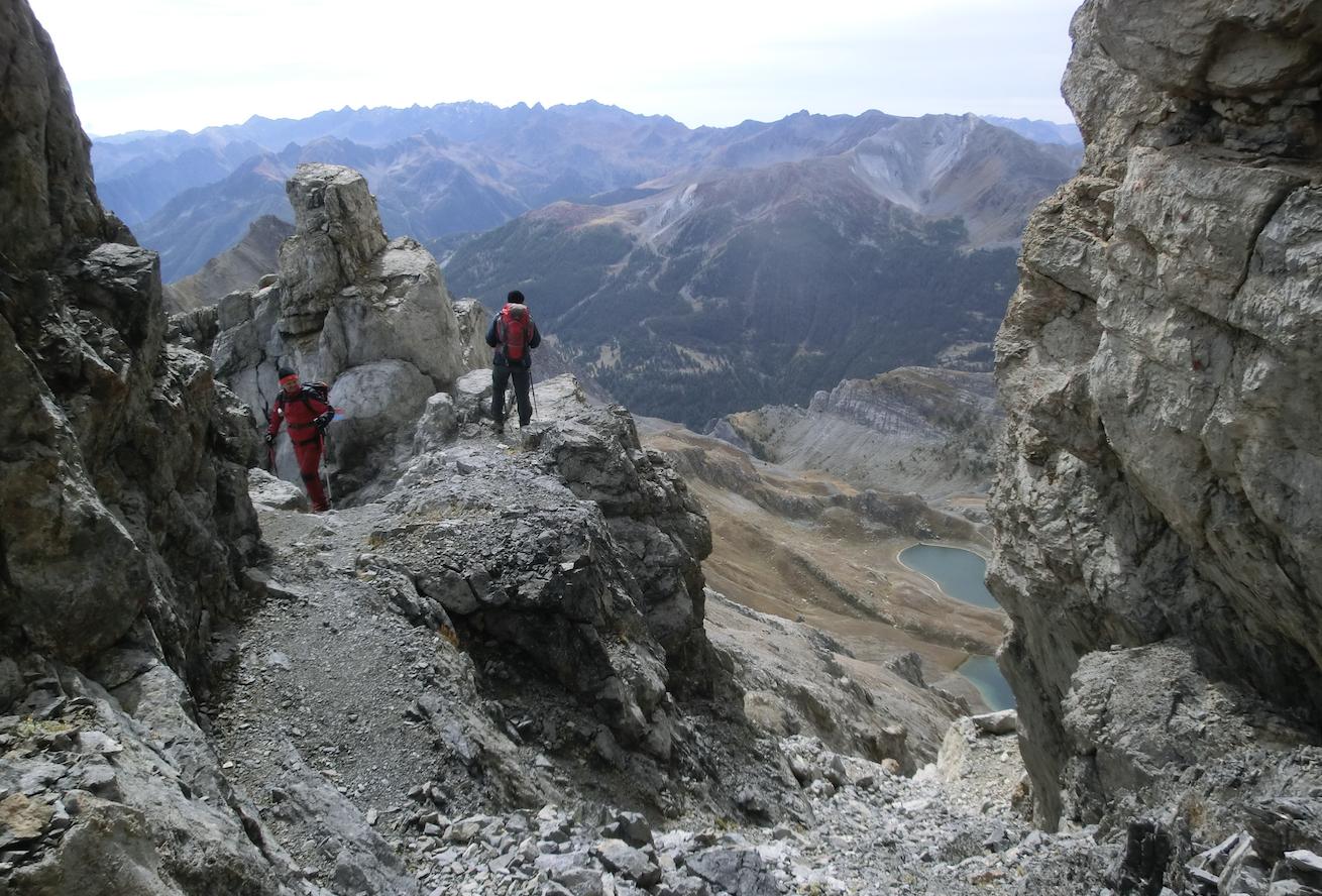 La Guida - La salita al Monte Scaletta
