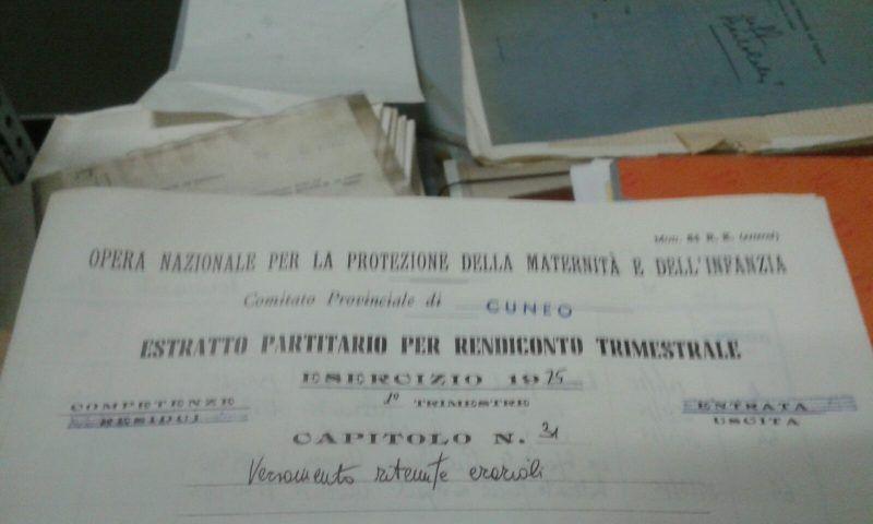 La Guida - L'archivio storico ex Onmi sarà custodito dall'Archivio di Stato di Cuneo