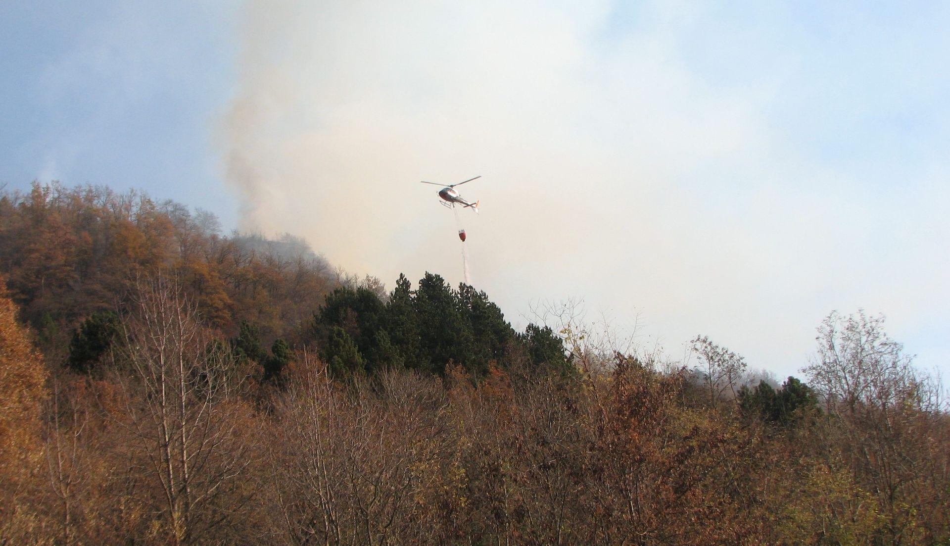 La Guida - Massima pericolosità per gli incendi anche a Capodanno