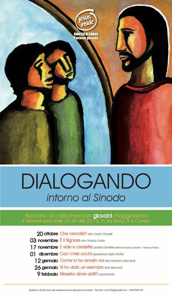 """La Guida - Dal 20 ottobre inizia """"Dialogando…intorno al Sinodo"""" per i giovani dai 18 ai 35 anni"""