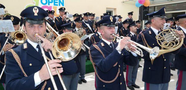 La Guida - San Michele, concerto della Fanfara della Polizia di Stato