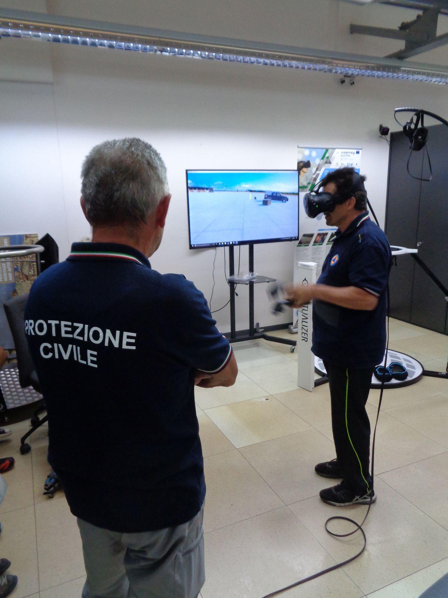 La Guida - Protezione Civile, formazione con la realtà virtuale