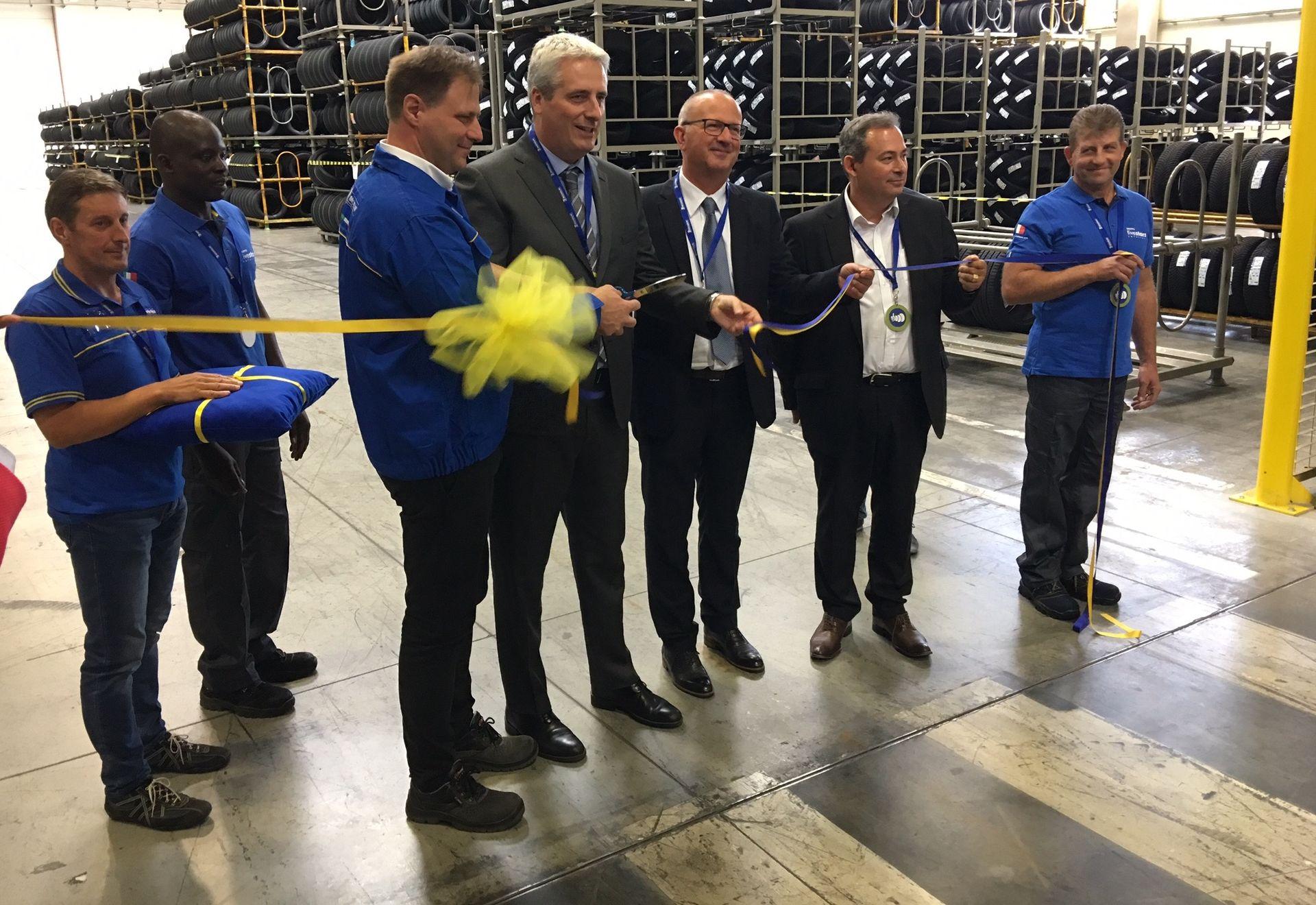 La Guida - Nuovo polo logistico per la Michelin, 30 milioni di investimenti