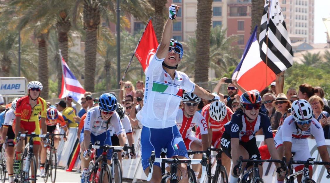 La Guida - Elisa Balsamo ai mondiali di ciclismo