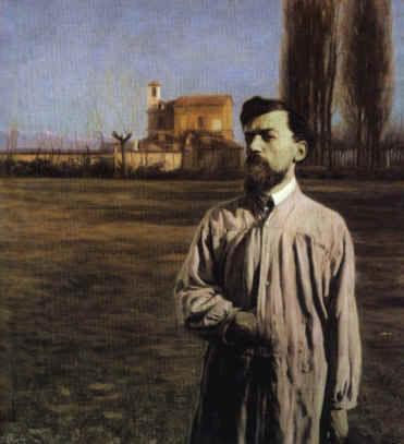La Guida - Vita e opere del pittore Matteo Olivero
