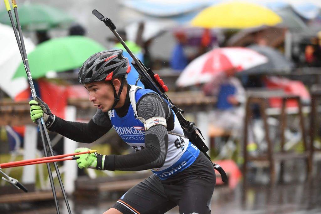 La Guida - Nicolò Giraudo campione italiano Aspiranti nel biathlon estivo