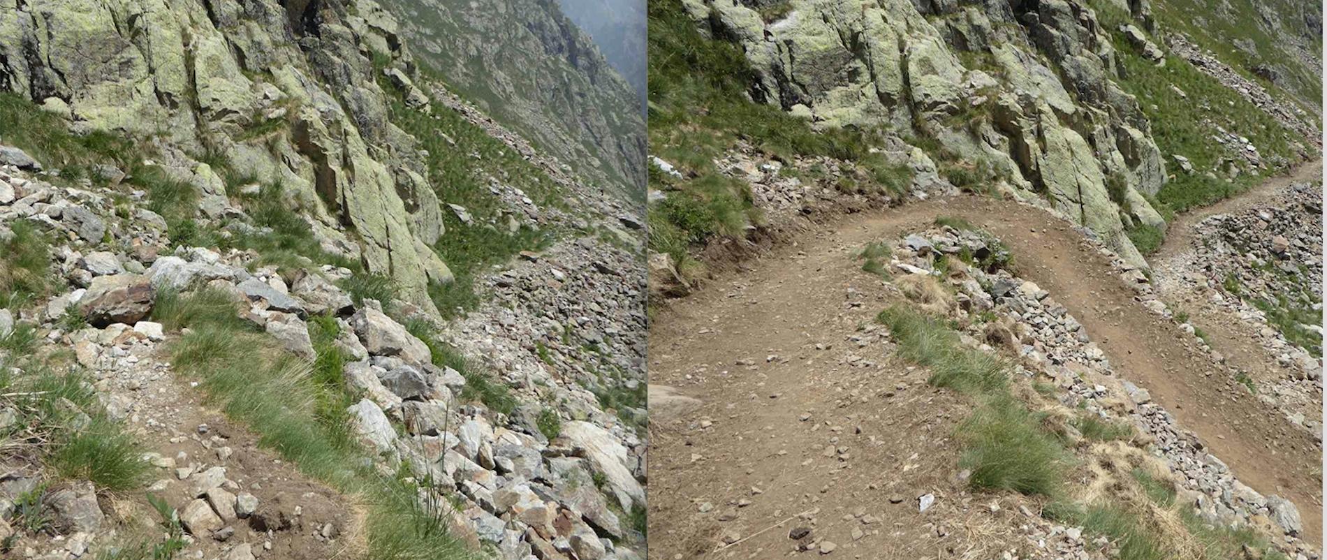 La Guida - Risistemato il sentiero dal Chiotas al Colle Chiapous
