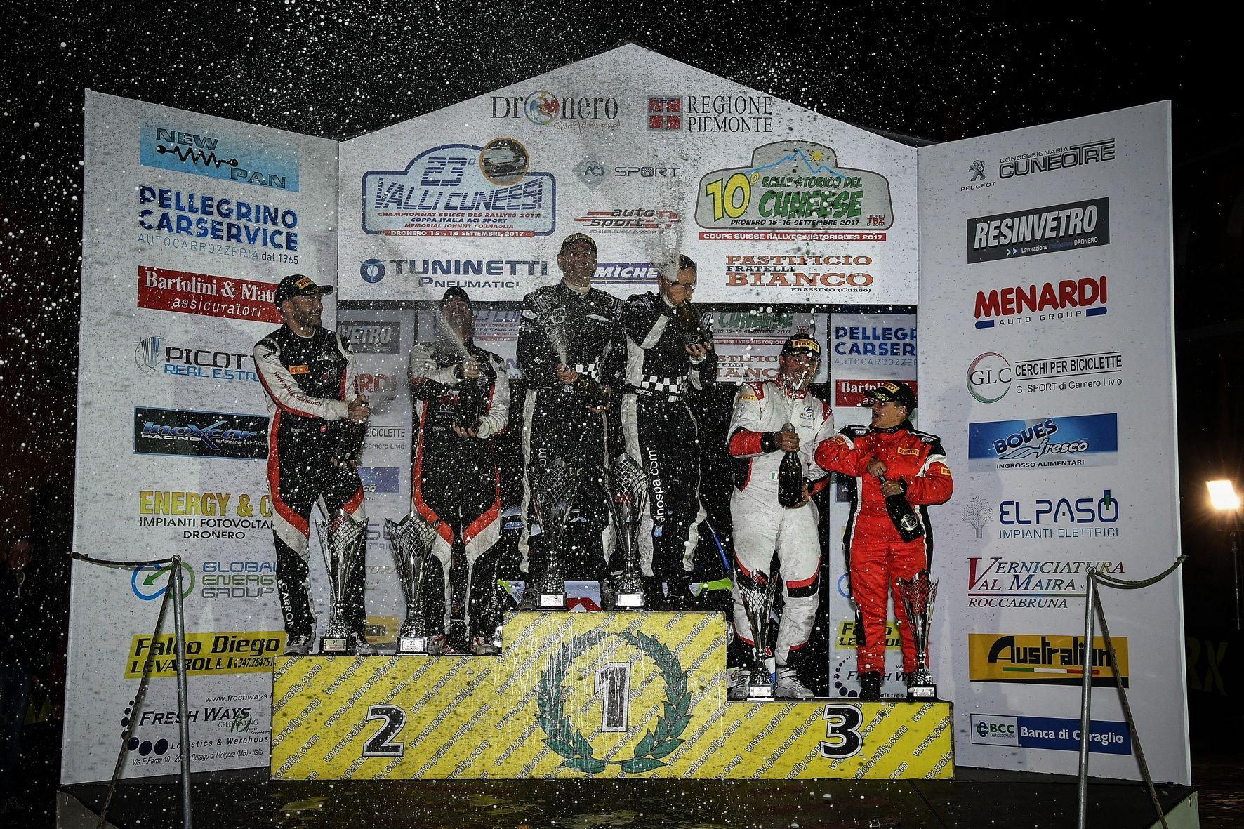 La Guida - Gino e Ravera vincono il Rally delle Valli cuneesi