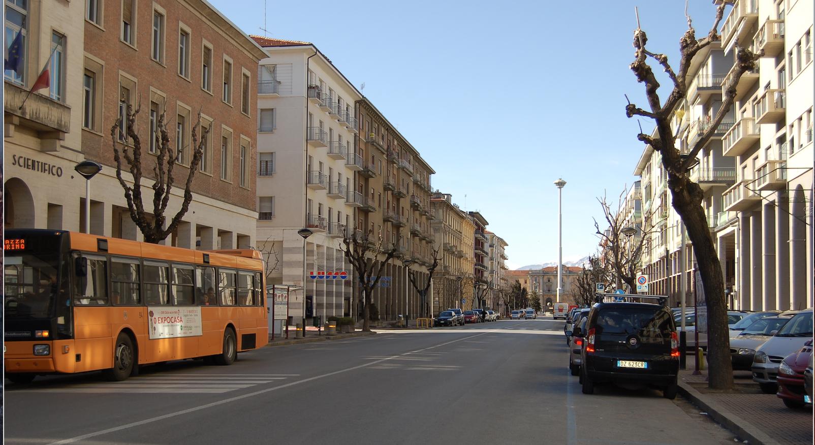 La Guida - Tornano i bus in corso Soleri