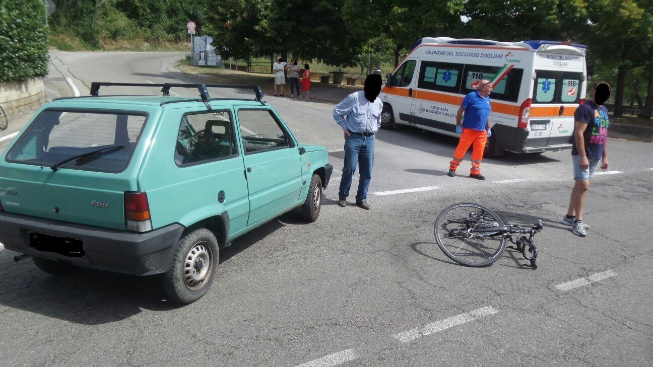 La Guida - Ottantenne travolge ciclista a Dogliani