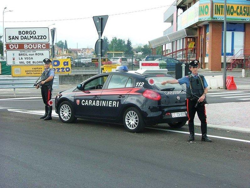 La Guida - Borgo San Dalmazzo, tre persone denunciate dai Carabinieri