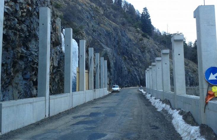 Paravalanghe tra Pianche e Bagni di Vinadio, chiusura della strada a ...