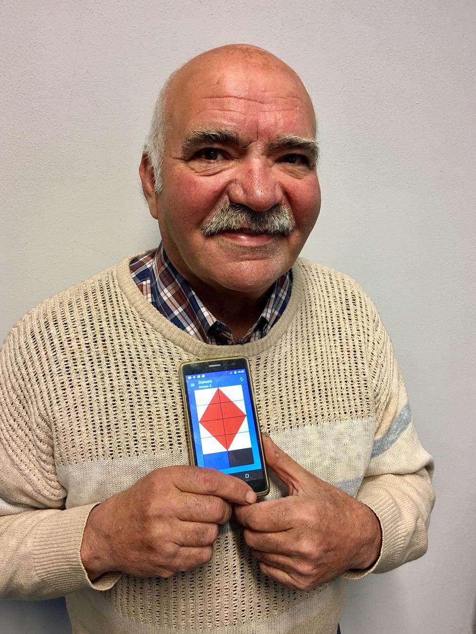 La Guida - Bruno Lerda, il fabbro di Ronchi che inventa giochi e app