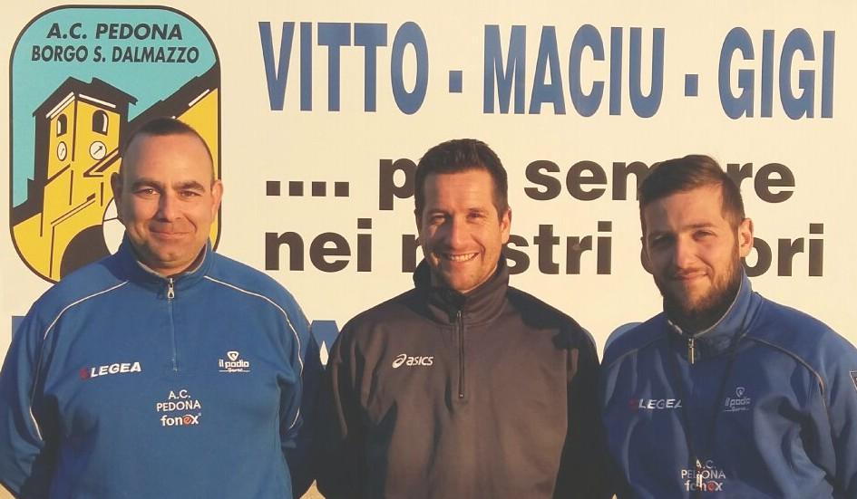 La Guida - Tre nuovi allenatori con il Pedona calcio