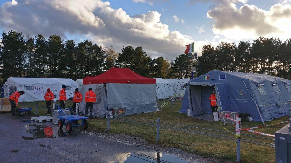 La Guida - La Protezione civile cuneese in Svezia