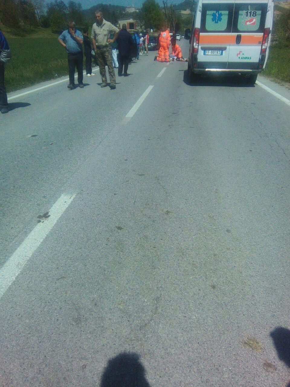 La Guida - Ciclista investito sul tratto Dogliani Monchiero