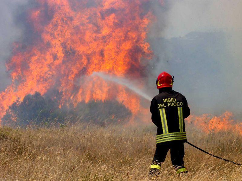 La Guida - Due incendi a Festiona e tra Montefallonio e Chiusa Pesio