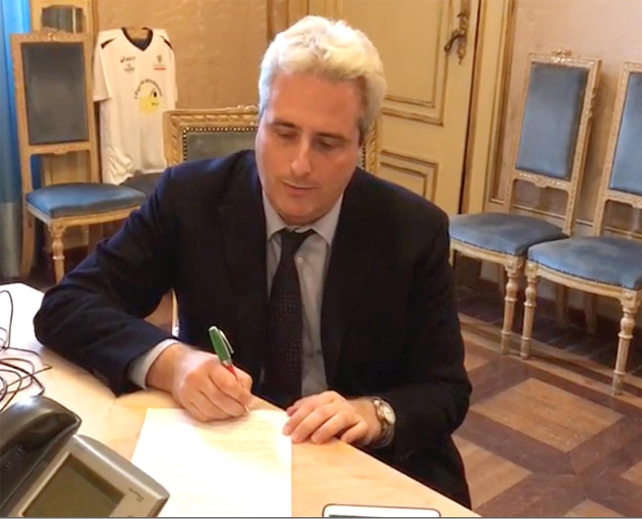 """La Guida - Borgna firma: """"Cuneo è una città antifascista"""""""