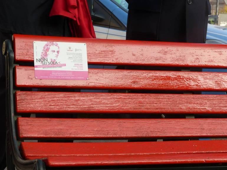 La Guida - Oggi inaugura la panchina rossa in corso Dante