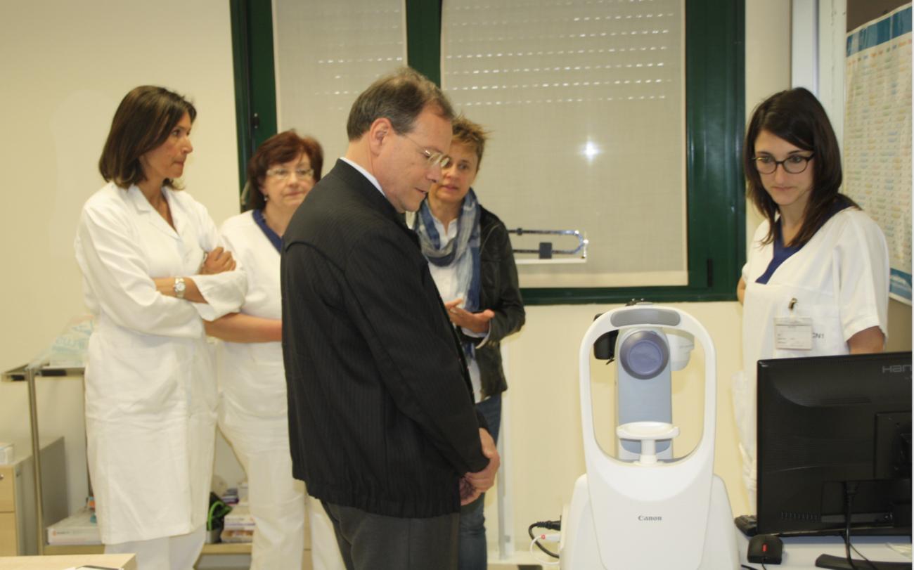 La Guida - Retinopatia diabetica, screening anche a Mondovì