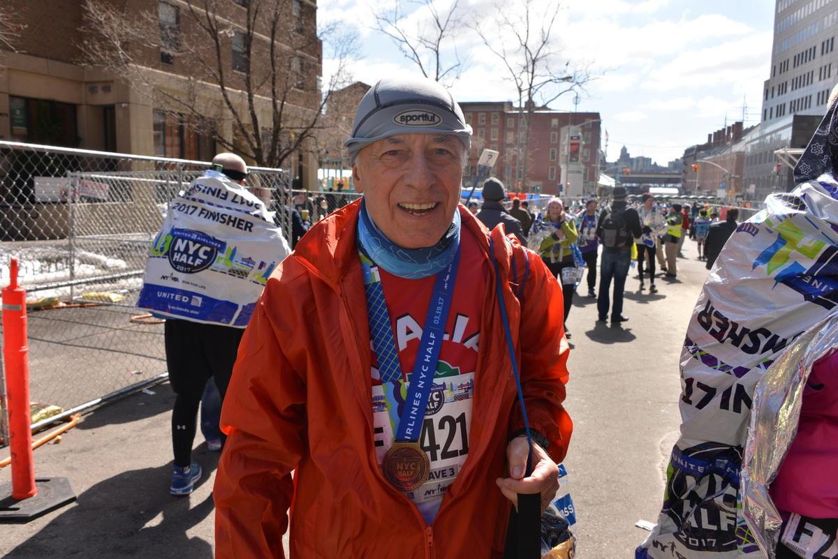 La Guida - Roberto Borsi, 80 anni e dieci maratone in ricordo del figlio