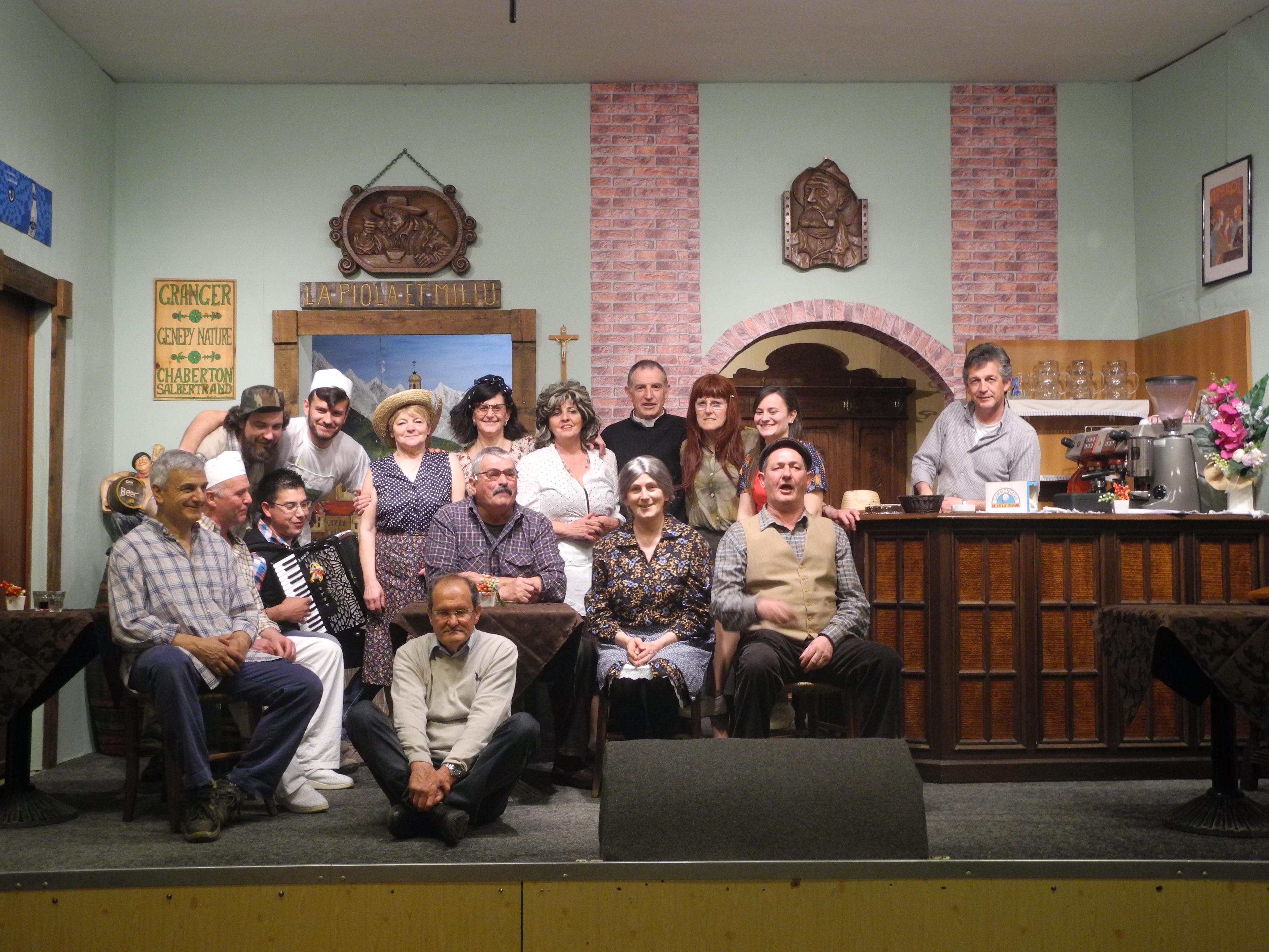 """La Guida - """"Ij sensa nom""""  sul palco del Don Bosco"""