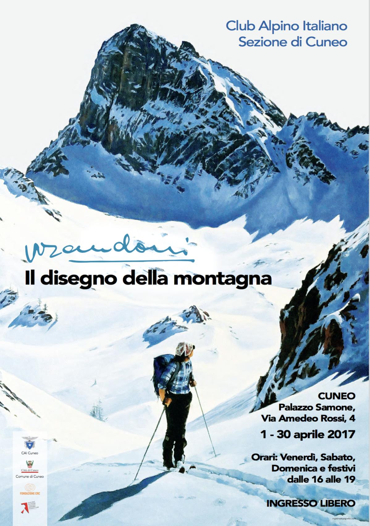 """La Guida - """"Il disegno della montagna"""" in mostra a Palazzo Samone"""