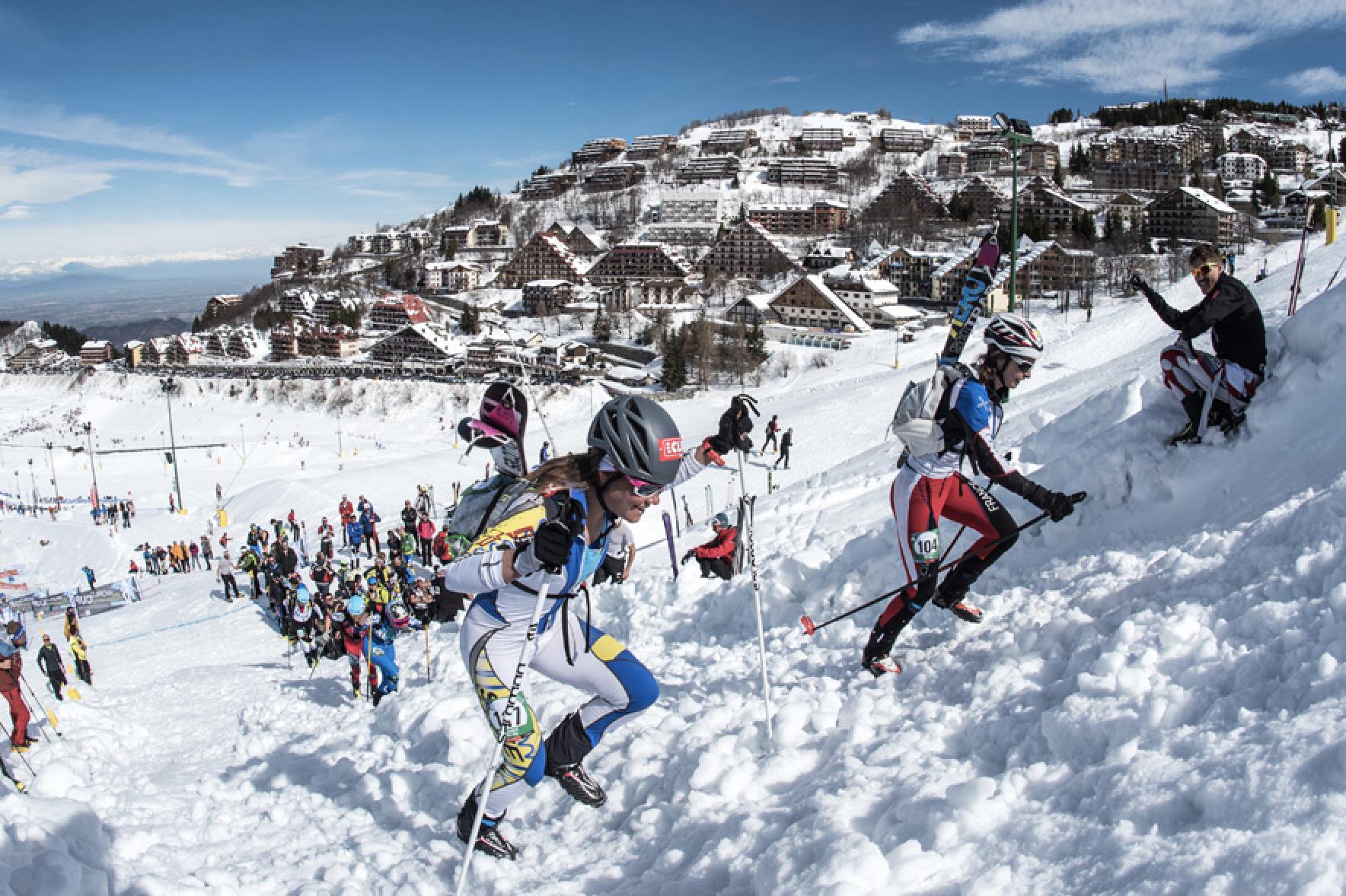 La Guida - La Coppa del mondo di scialpinismo al Mondolè