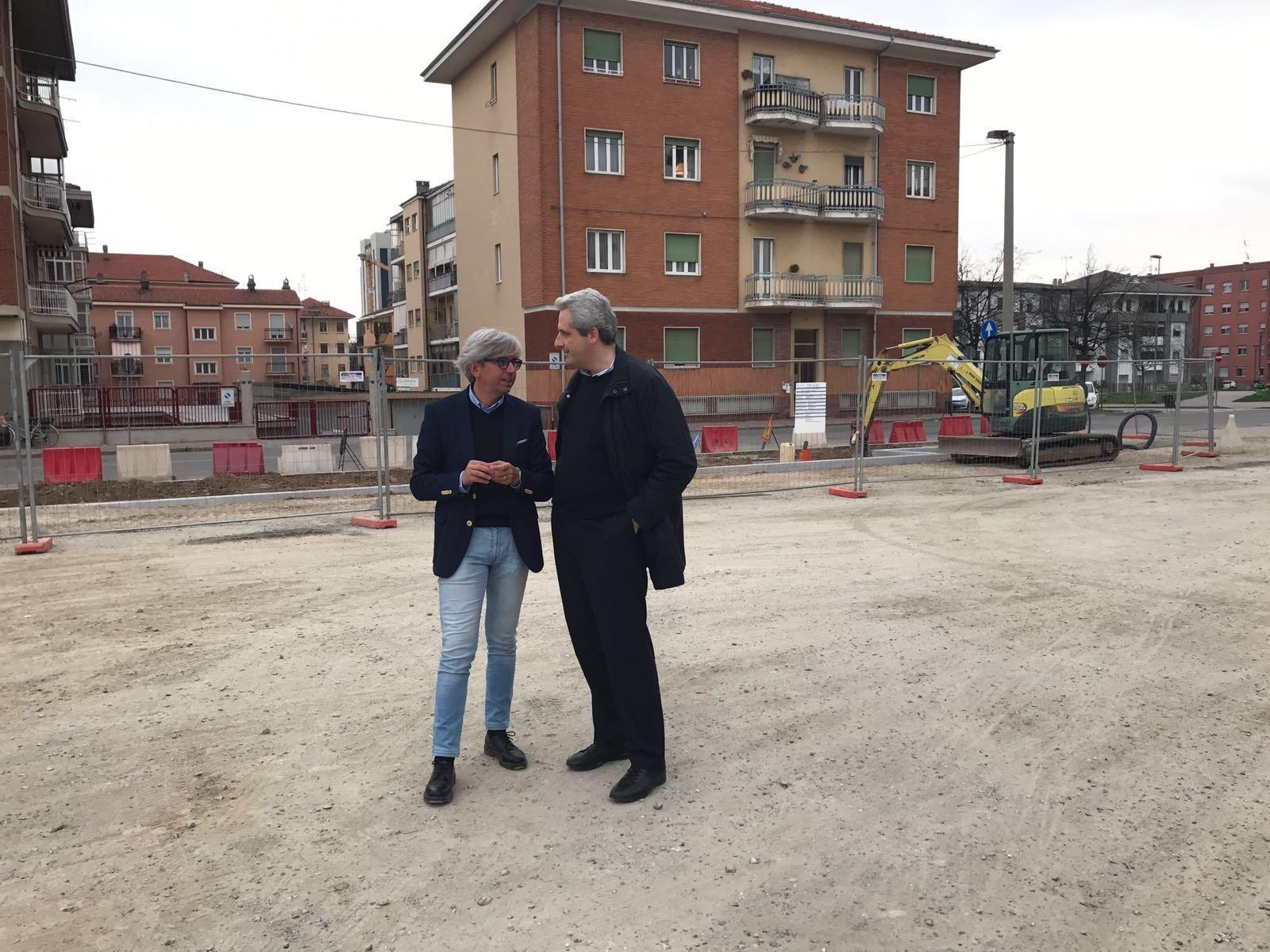 La Guida - Iniziati i lavori nella piazza del Donatello