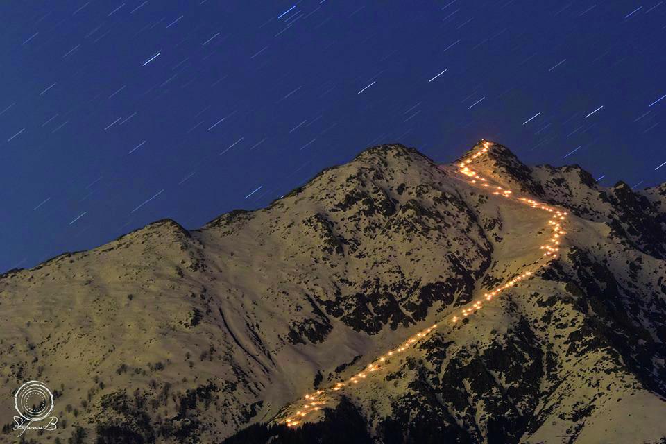 La Guida - Stasera la fiaccolata notturna in Bisalta