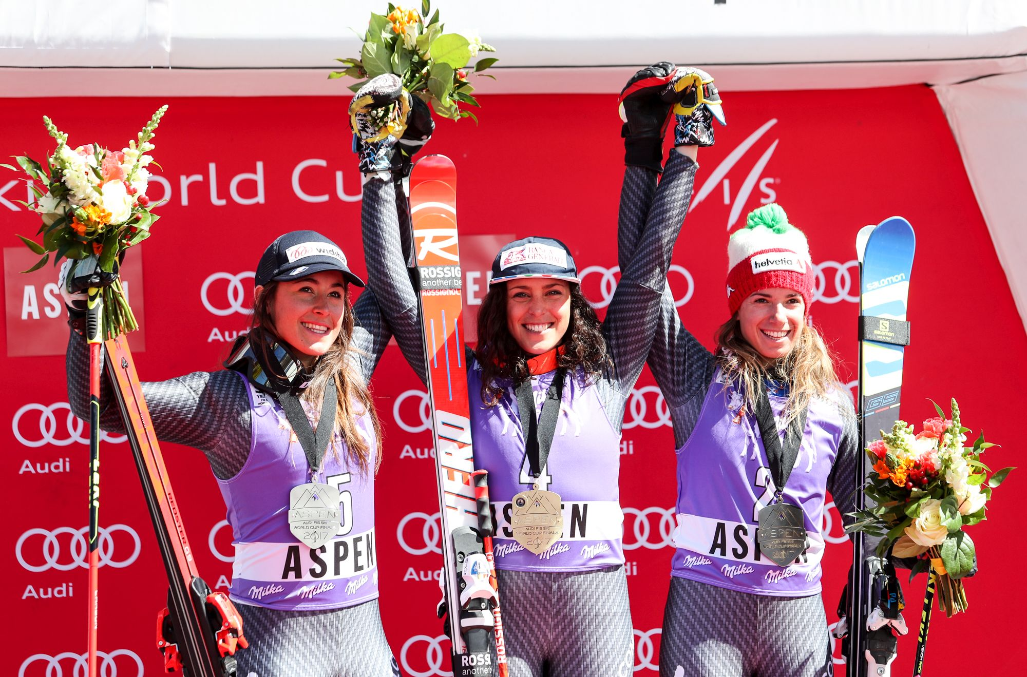 La Guida - È festa azzurra nell'ultimo gigante di Coppa del mondo ad Aspen