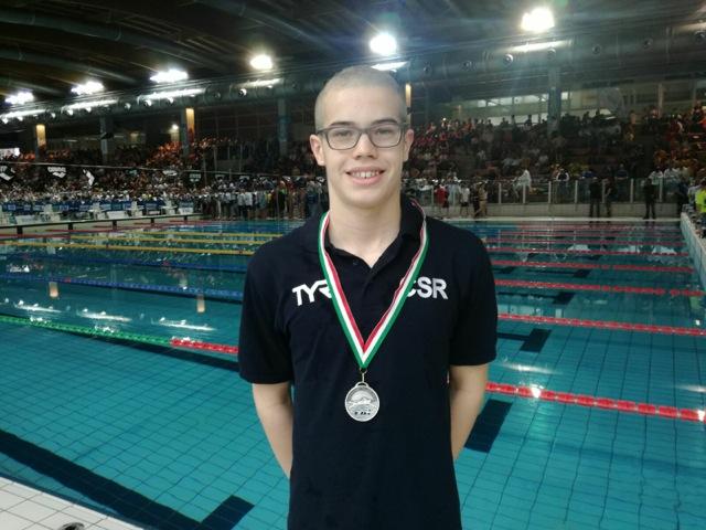 La Guida - Due medaglie d'argento per Simone Dutto nei Criteria di nuoto