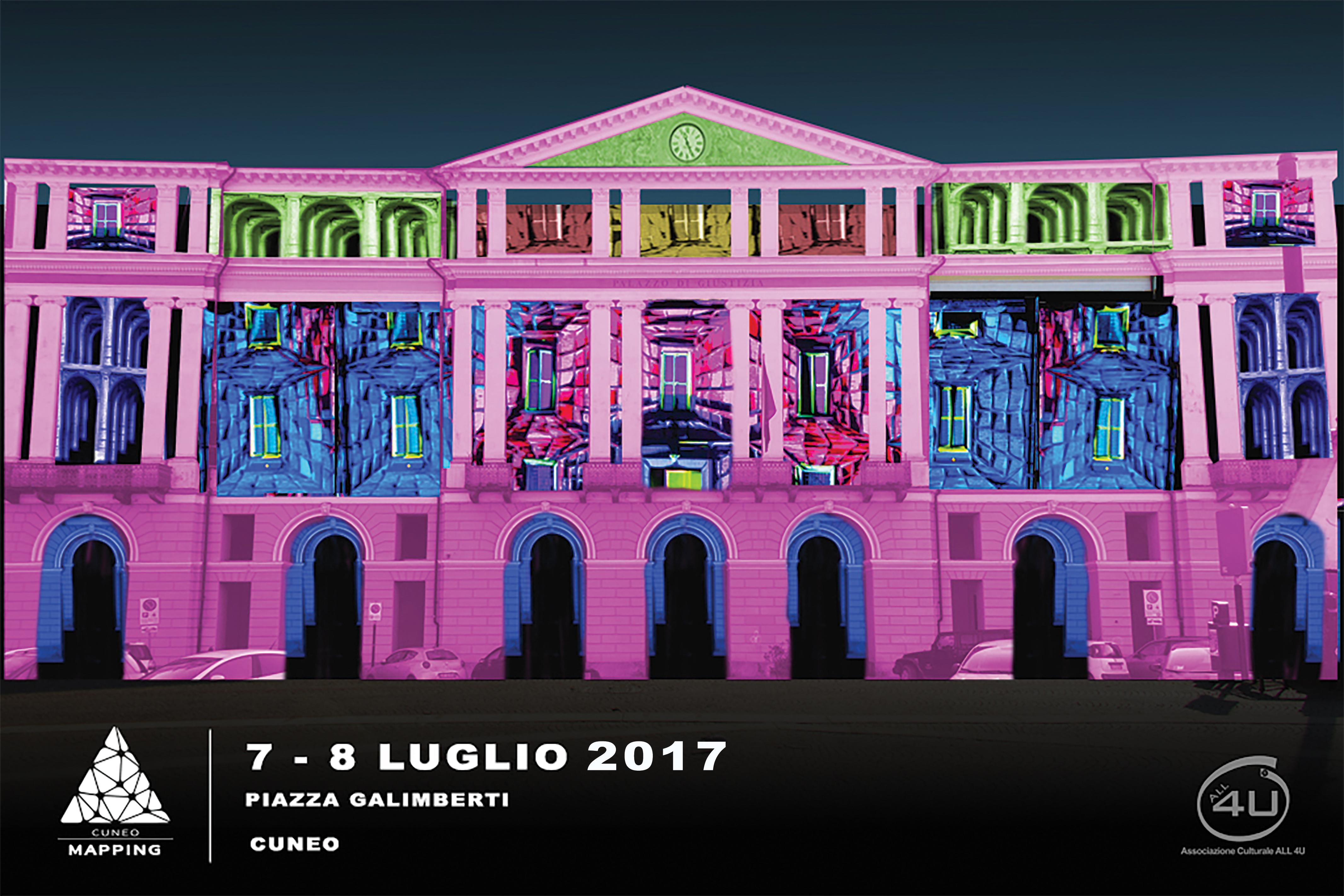 La Guida - Illusioni ottiche e giochi di luci in piazza Galimberti