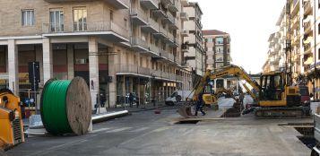 La Guida - Teleriscaldamento, lavori di ripristino della pavimentazione