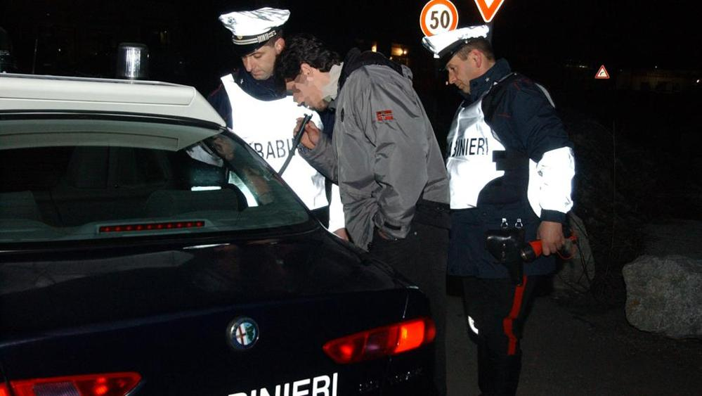 La Guida - 5 automobilisti denunciati per guida in stato di ebbrezza