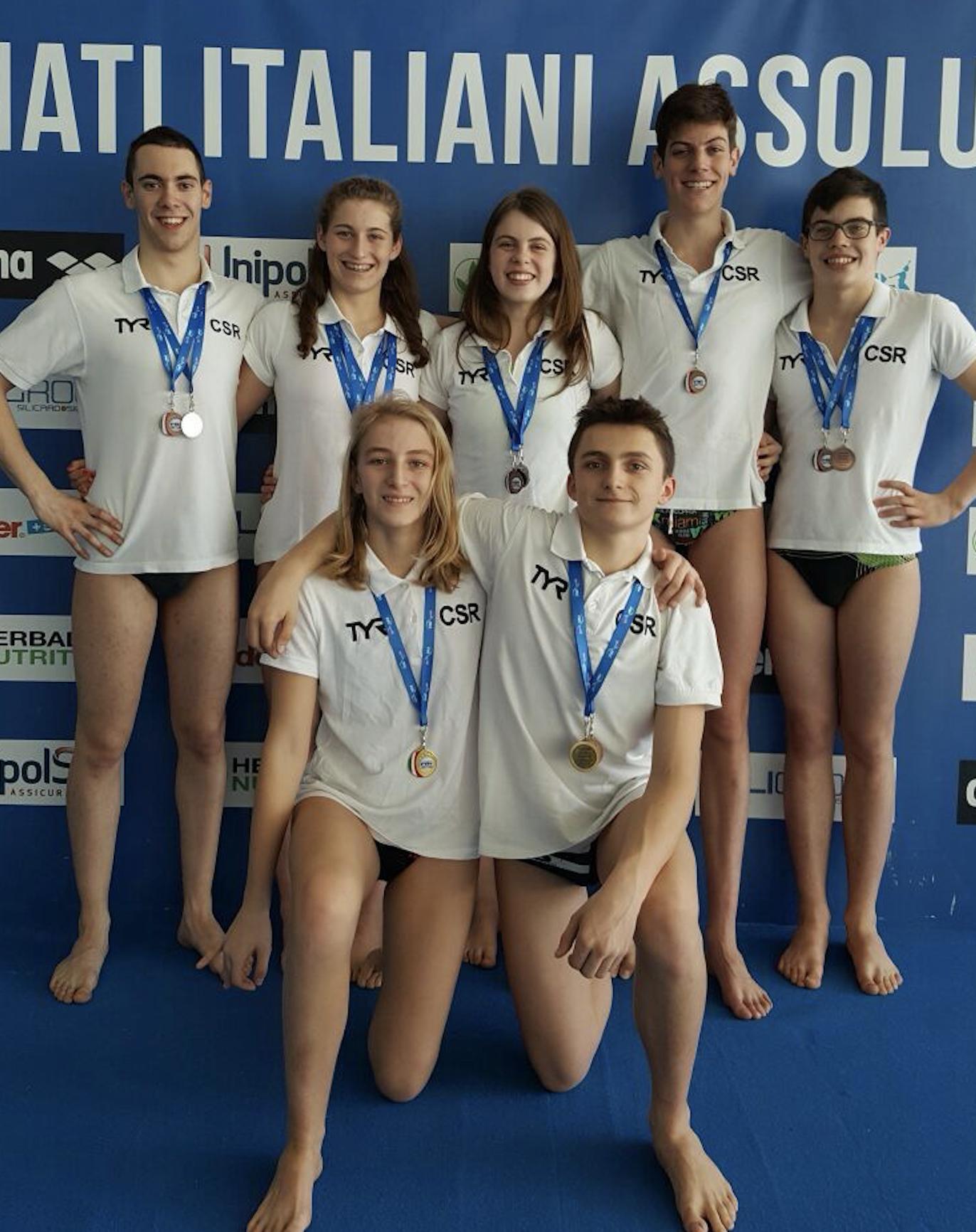 La Guida - Gli atleti del Csr Granda in gara ai Criteria nazionali di nuoto