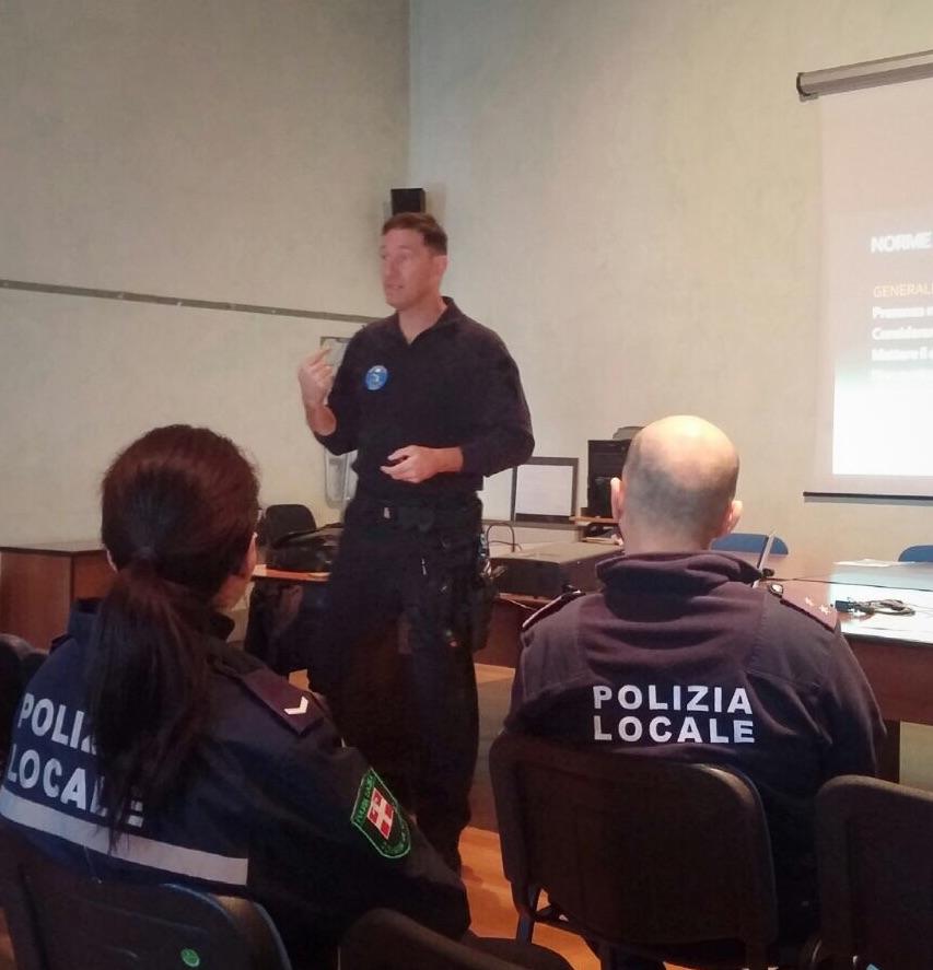 La Guida - Polizia municipale, corsi di formazione su armi e tiro