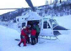 La Guida - Cade sugli sci a Limone e si frattura una gamba