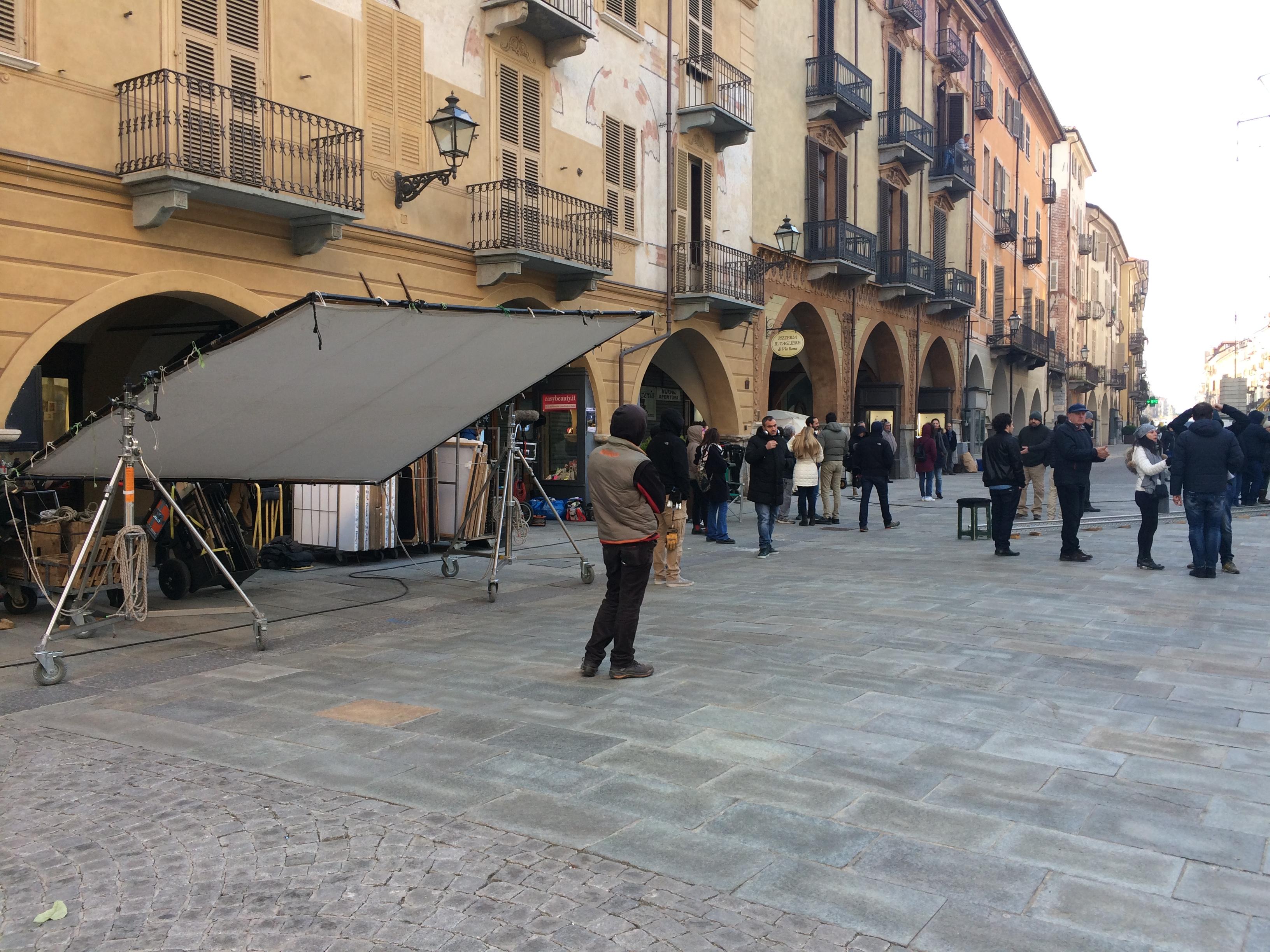 La Guida - Stamattina le riprese del film di Loconsole in via Roma