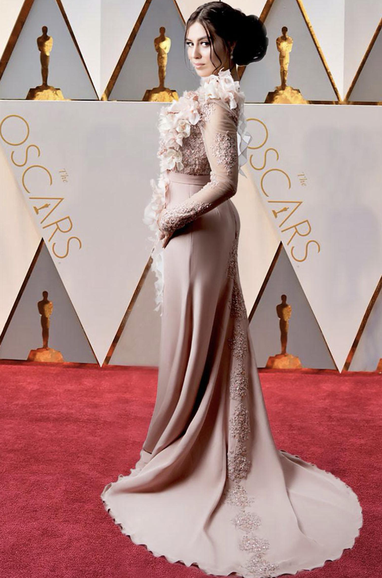 La Guida - La cuneese Flavia Monteleone alla notte degli Oscar