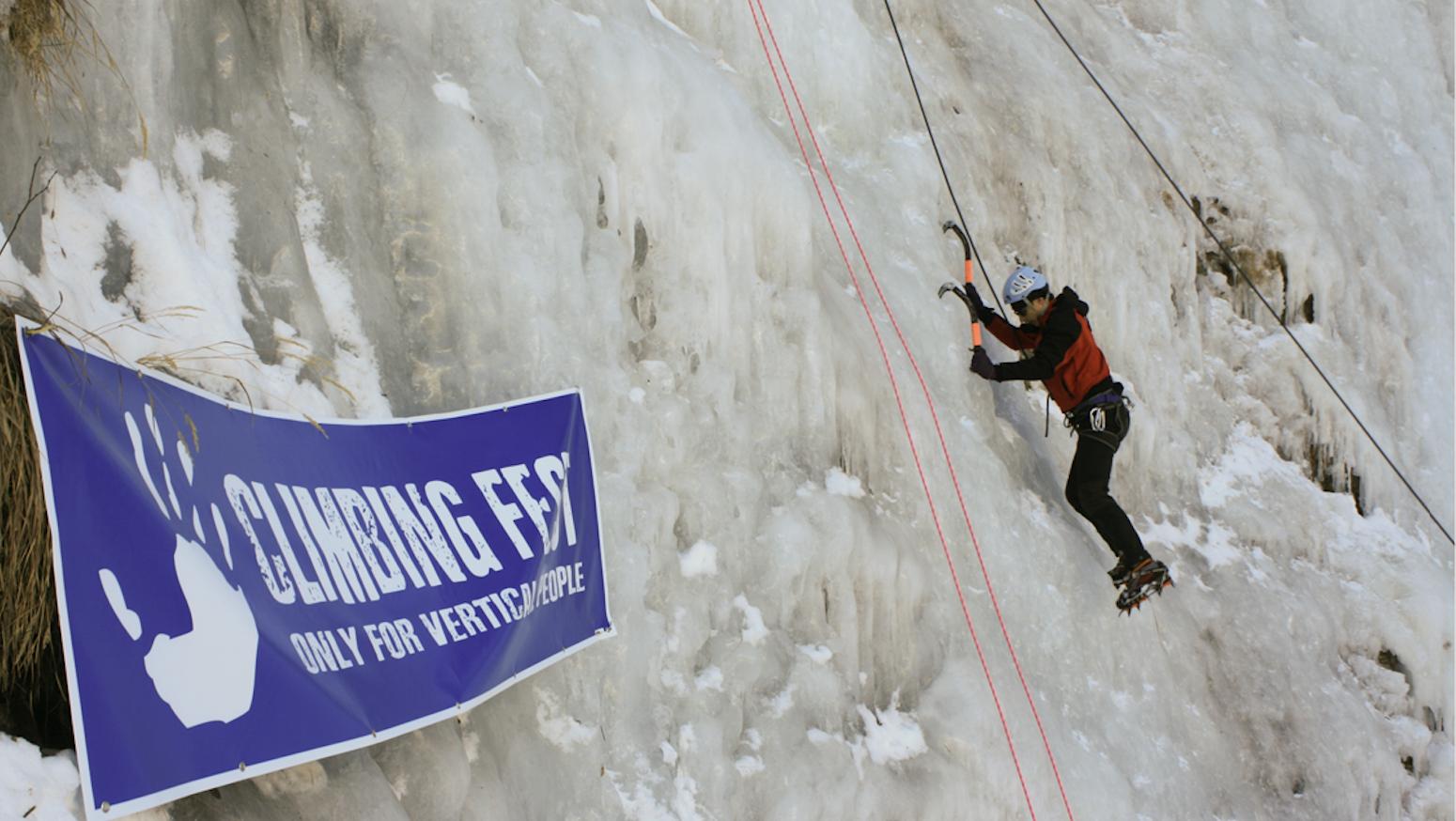 La Guida - 500 scalatori all'Ice climbing fest di Pontechianale