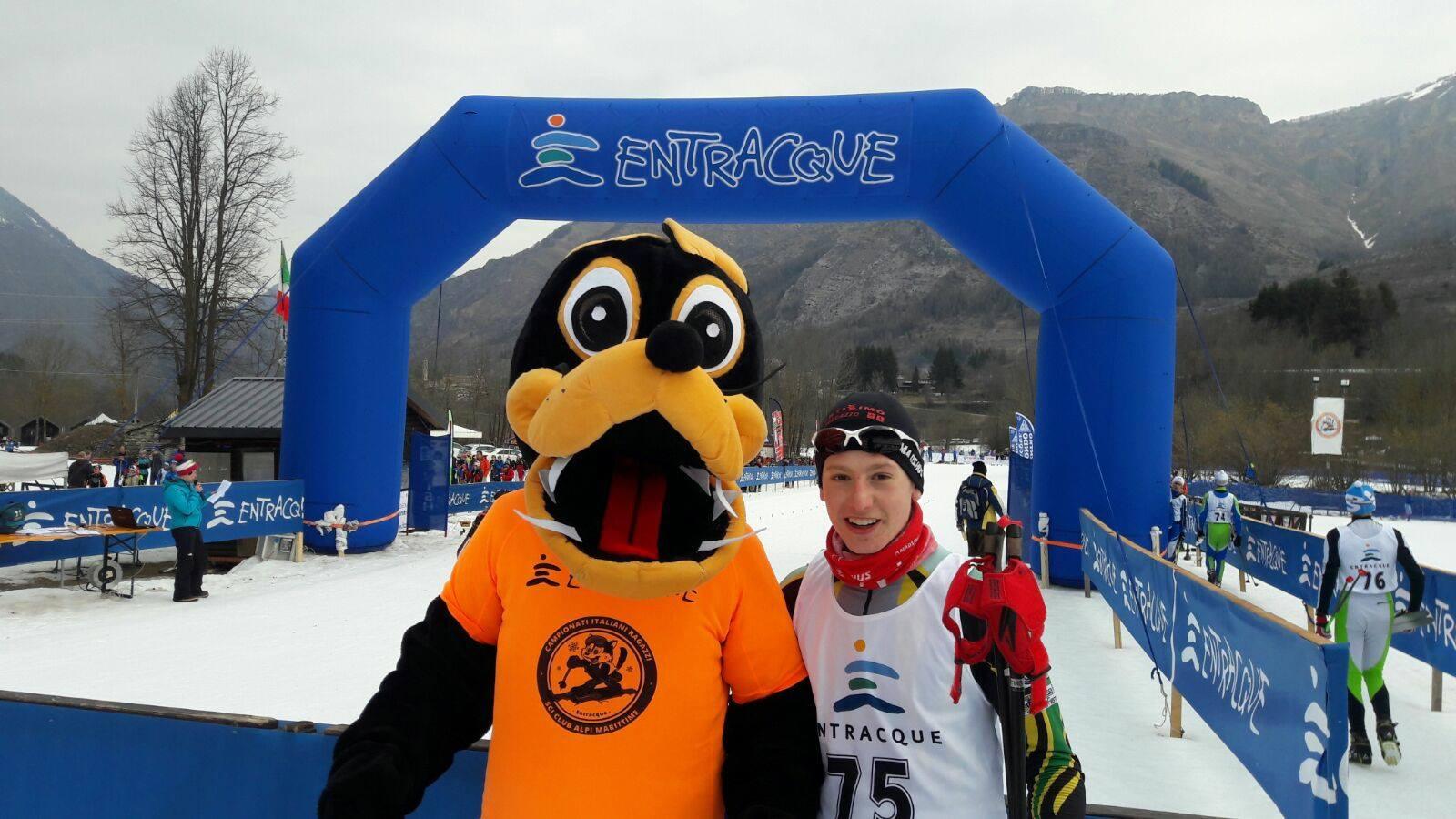 La Guida - Successi per i ragazzi di casa ai Campionati italiani di sci nordico a Entracque