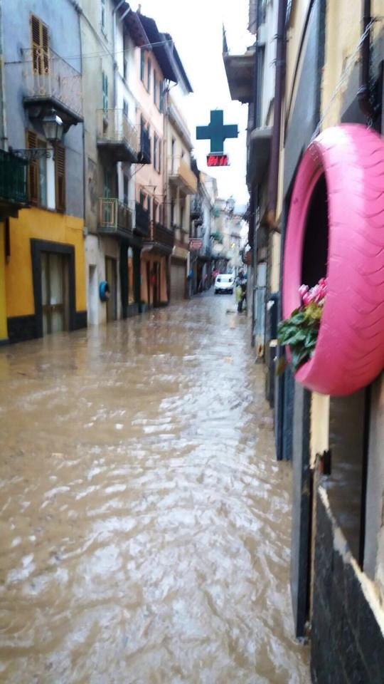 La Guida - Garessio, sfollati negozi, garage e appartamenti