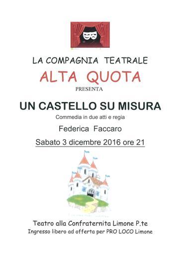 """La Guida - A Limone va in scena """"Un castello su misura"""""""